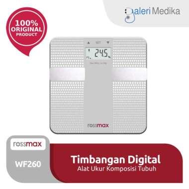 harga Timbangan Lemak Rossmax WF260 Body Fat Monitor Silver Blibli.com