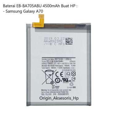harga Original Baterai EB-BA705ABU Buat Handphone Samsung Galaxy A70 Blibli.com