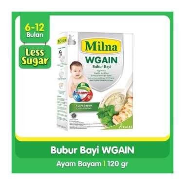 harga Milna Wgain Bubur Bayi 6 + Rasa Ayam Bayam [120 gr] Blibli.com