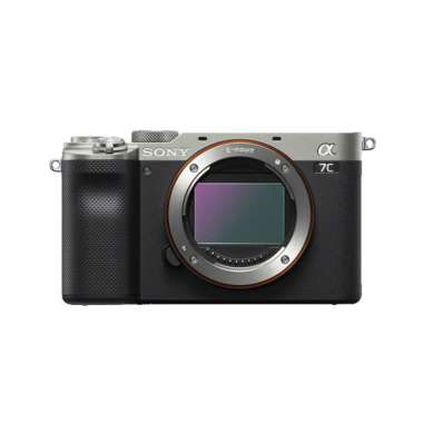 harga Sony Alpha ILCE A7C A 7C body Only mirrorless Camera Silver Blibli.com