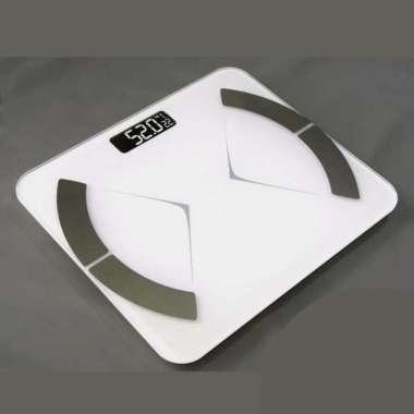 harga Timbangan Berat Badan Body Fat Monitor Smart Putih Blibli.com