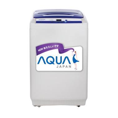 Aqua AQW99XTF Mesin Cuci - Silver [1 Tabung/ 9 kg]