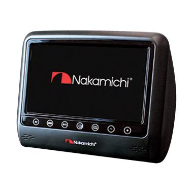 harga Nakamichi NHM-080 Headrest Monitor - Hitam [8 Inch] Blibli.com