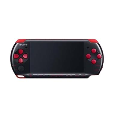 Sony PSP 3000 Game Console - Black Red + MC Pro Duo 8 GB Full Game