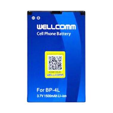 Wellcomm BP-4L Battery for Nokia - Biru