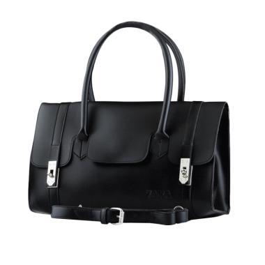 Azzurra 590-1324 Zara Handbag - Black