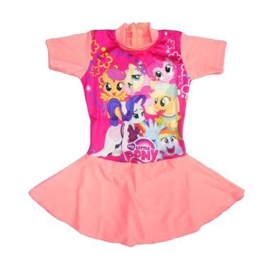 Nice Motif My Pony Peach Rok Baju Renang Anak