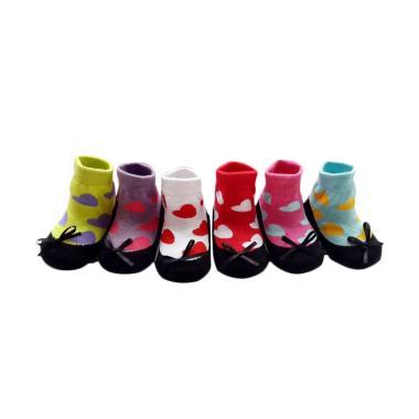 Petite Mimi Baby Sock Amore Kaos Kaki Bayi [6 Pcs]