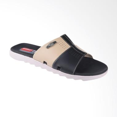Carvil Qiu-Qiu Sandal Casual Pria - Black 993M