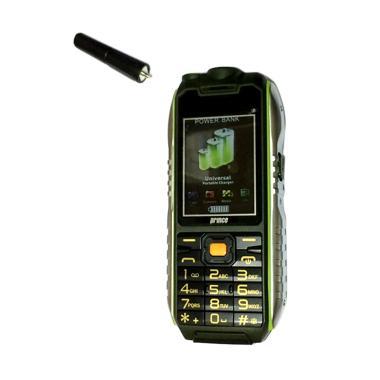 Prince PC-398 Powerbank Handphone - Green [10.000 mAh]