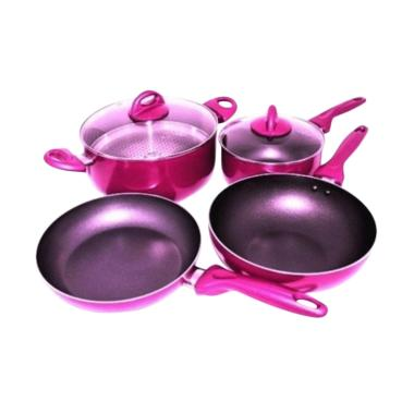 Supra Rosemary Set Cookware - Redwine