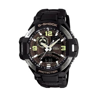 CASIO G-Shock GA-1000-1B Jam Tangan Pria