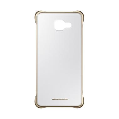 Samsung Clear Cover Casing for Galaxy A5 2016 - Gold