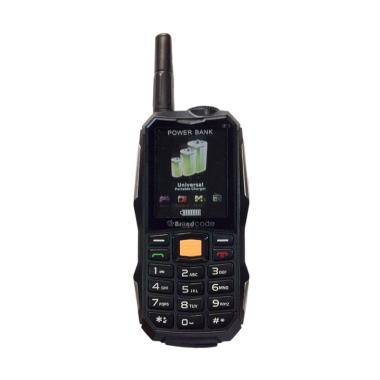 BrandCode B81 Handphone - Hitam [Dual SIM/10000mAh]