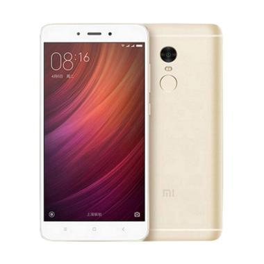 Xiaomi Redmi Note 4 Smartphone - Emas [64 GB/ 3 GB] Free Tongsis Cable