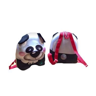 Forest Panda 3 Dimensi Tas Ransel - Putih