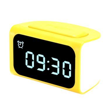 Remax Original Zmart RMC-05 HUB Alarm Clock - Kuning [4 USB Hub]