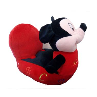 My Kids Boneka Mickey Mouse Sofa Anak - Red