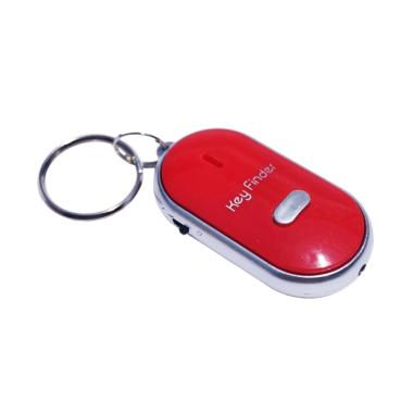 Key Finder Gantungan Kunci Siul Merah