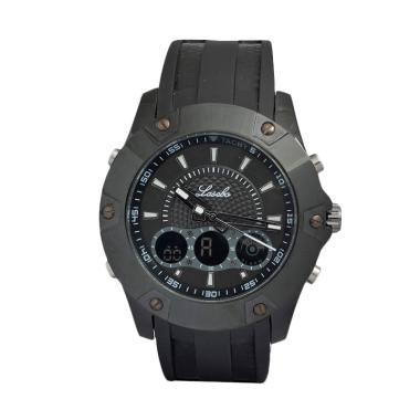 Lasebo LS8022FBL Sporty Jam Tangan Pria - Black