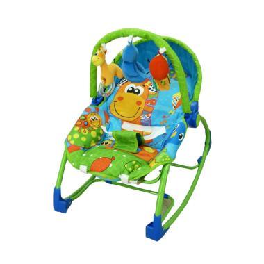 Pliko Rocking Chair Hammock 3 Phases Giraffe Tempat Tidur Bayi
