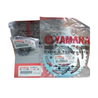 Yamaha Genuine Parts Chain & Sprocket kit (3C1)