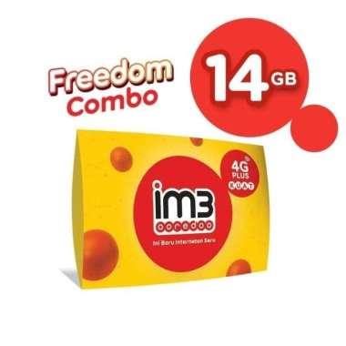harga IM3 OOREDOO Starter Pack Prabayar - FREEDOM 14 GB, 30 Hari Blibli.com