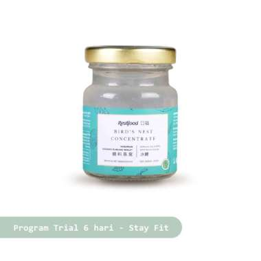 Realfood Trial Program Stay Fit Semi Concentrated Bird's Nest