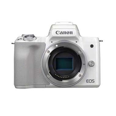 harga Canon EOS M50 Mark II Body Only Mirrorless Digital Camera PUTIH Blibli.com