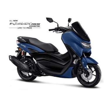 Yamaha All New Nmax 155 Connected Non ABS Version Sepeda Motor [VIN 2020- OTR Jabodetabekser] Matte Blue Serang