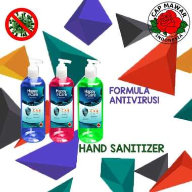 harga Hand Sanitizer Cair Happy Care 500ml Blibli.com