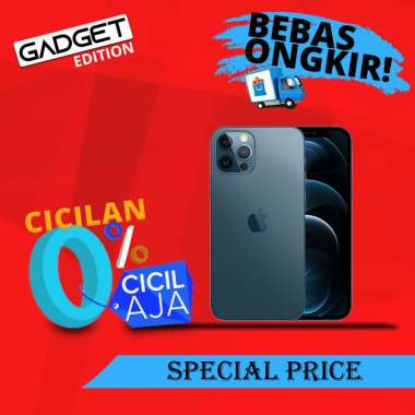 harga Apple iPhone 12 Pro Max 512GB Inter Pacific Blue Blibli.com