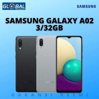 Samsung Galaxy A02 Smartphone (3/32GB) GRAY