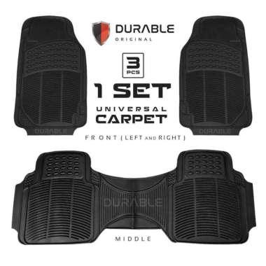 harga Volvo S90 Exclusive VW Safari Audi A4 VW Phaeton Durable Karpet Mobil 3pcs Karet PVC Abu-Abu Blibli.com