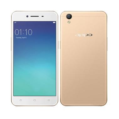 OPPO A37 Smartphone - Gold [16 GB/ 2 GB]
