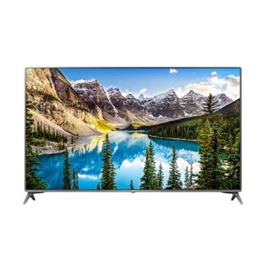 [RESMI] LG 43UJ652T UHD 4K Smart Flat LED TV Silver Metallic [43 Inch]
