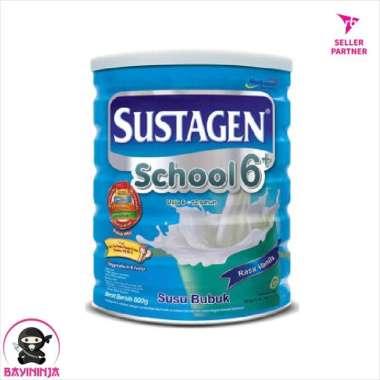 SUSTAGEN School 6 Vanila Susu Tin 800g 800 g