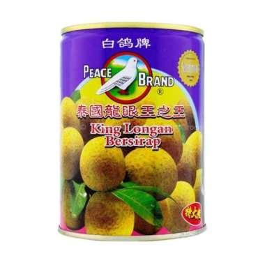 harga Manisan Imlek - Peace Brand King Longan Kelengkeng Bersirup 565g Murah Blibli.com