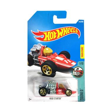 Hot Wheels Head Starter Diecast