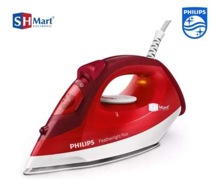Setrika uap Philips GC 1424/45 Steam Iron GC1424/45 ORIGINAL 100% red