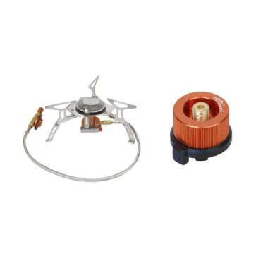 harga Camping Gas Butane Burner Picnic Cooking Stove + Transfer Nozzle Connector any Blibli.com