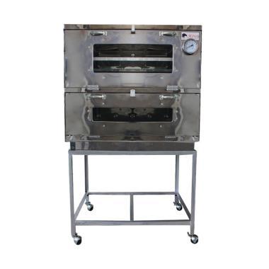 Kiwi Stainless Steel Oven Gas - Perak [60 cm]