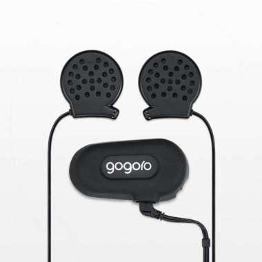 harga Gogoro original LED helmet bluetooth headset noise reduction heavy bass waterproof and dustproof Blibli.com