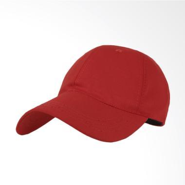 Elfs Shop Topi Basic Twill Baseball Cap - Merah