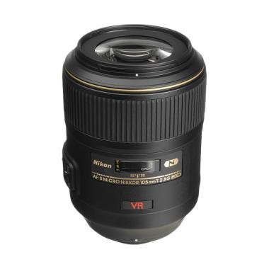 Nikon AF-S VR Micro 105 mm f/2.8G IF-ED Lensa Kamera