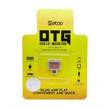 Satoo Micro USB OTG Adapter for Smartphone or Tablets