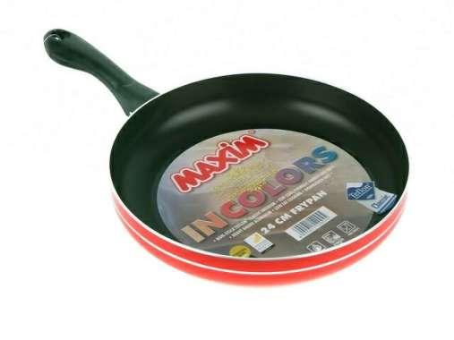 Sale New Maxim Fry Pan - Penggorengan - Teflon - Wajan 24Cm Maspion Diskon