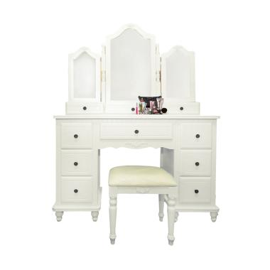 Dove's Furniture Meja Rias MR-024 - White