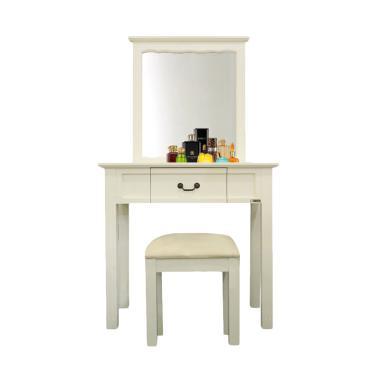 Dove's Furniture Meja Rias MR-MINIMALIS - White