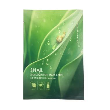 Nature Republic Snail Solution Mask Sheet Masker Wajah